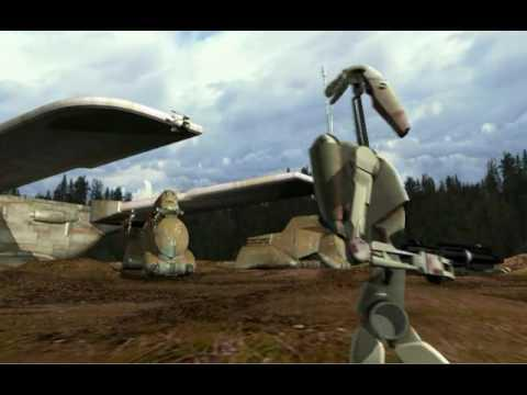 Star Wars Episode I The Phantom Menace - game FMV 2