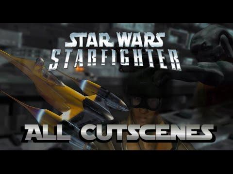 StarWars Starfighter All Cutscenes