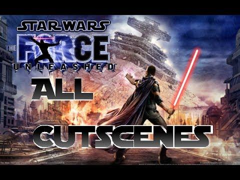 StarWars the Force Unleashed all Cutscenes (Wii)