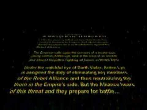 Star Wars FIghting Game (PSX) Intro