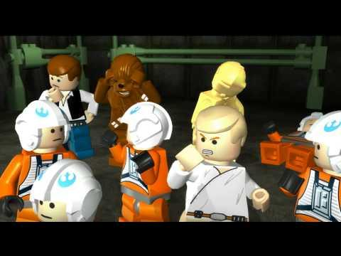 Lego Star Wars : The Complete Saga - Movie (All Cutscenes)