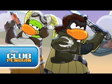 Club Penguin Star Wars Rebels Takeover: Official Trailer - Disney Club Penguin